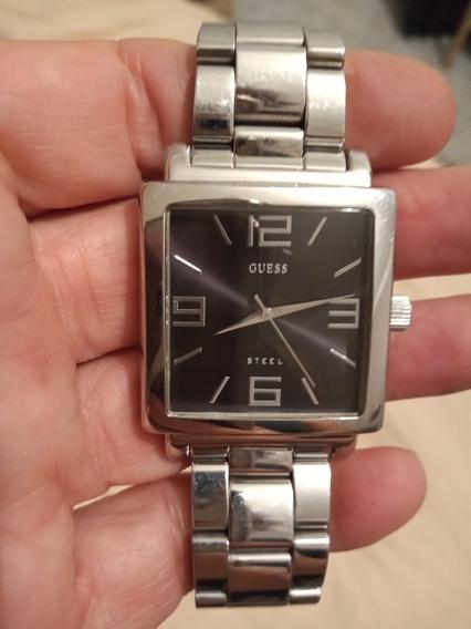 Relógio Guess Original Still Niquelado Original