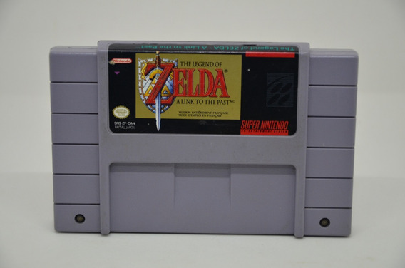 Zelda A Link To The Past Super Nintendo Original Canada Raro