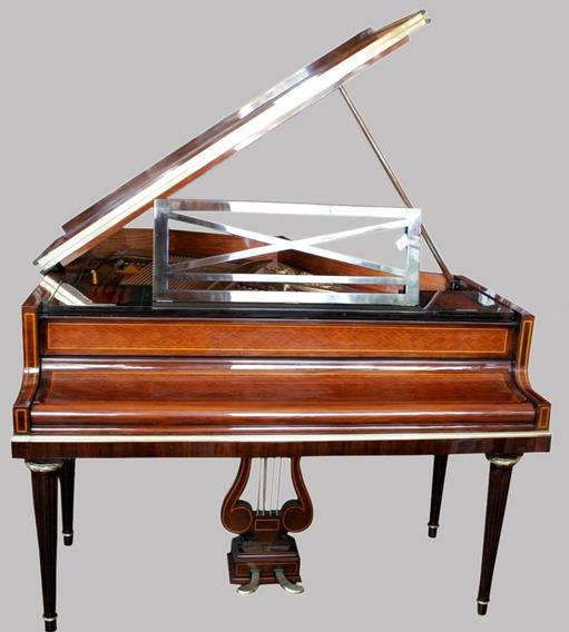 Antiguo Piano Pleyel Madera Marqueterie - Antig La Rueda L R