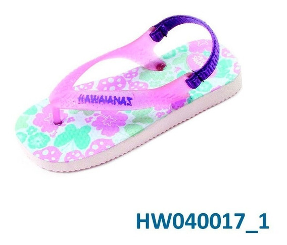 Ojotas Hawaianas Beba Tropical Dreams