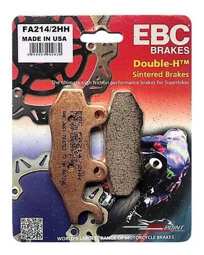 FA214//2HH Ebc Hh-Sinterizada Superbike Pastilhas De Freio