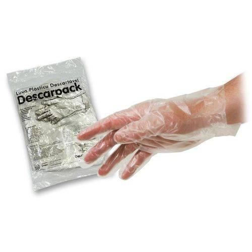5000 Luvas Plastica Descartaveis Descarpack