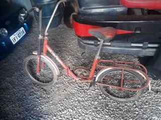 Bicicleta Antiga Caloi Monareta