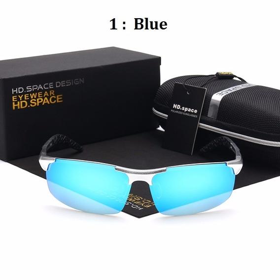 Óculos De Sol Polarizado Masculino 100% Uva E Uvb