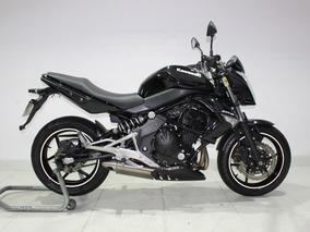 Kawasaki Er 6n Abs 2012 Preta