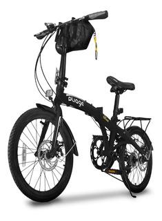 Bicicleta Dobrável Aro 20 Reforçada Shimano Freio A Disco
