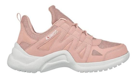 Tenis Sneakers Chunky Rosa K-swiss Tricia De Mujer Original