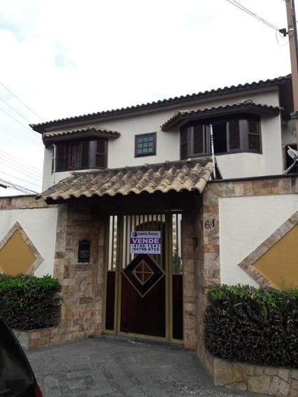 Lindo Sobrado Com 4 Dormitórios À Venda- Jardim Medina - Poá/sp - So0371