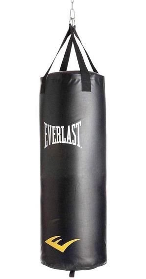 Bolsa De Boxeo Everlast Profesional Cadena Y Rotor Original