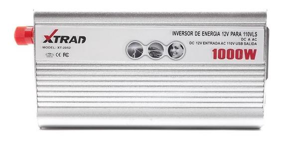 Inversor Transformador Conversor Veicular 1000w 12v P/ 110v