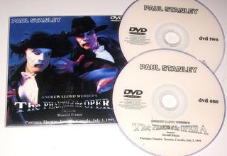Paul Stanley Phamton Of The Opera Toronto 99 (2 Dvd)