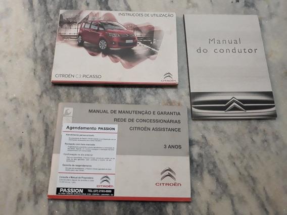 Manual Proprietário C3 Picasso 1.6 Glx Flex 2011 Cód 132