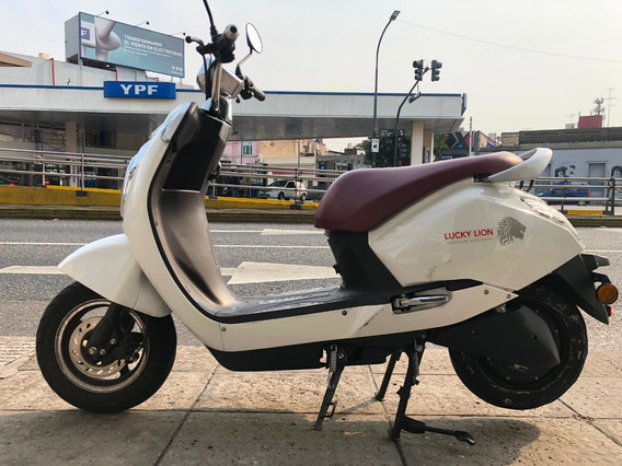 Lucky Lion Diamond Moto Electrica Año 2018 Impecable