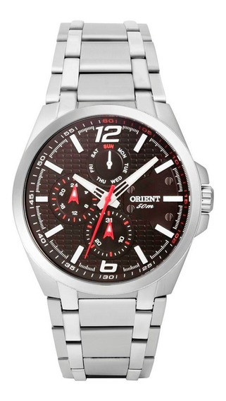 Relógio Orient Masculino Prata Mbssm057 Pvsx