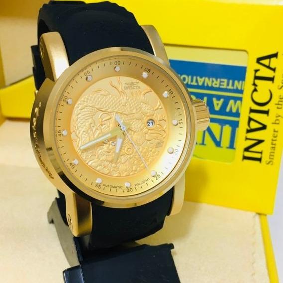 Relógio Invicta Yakusa S1 Preto