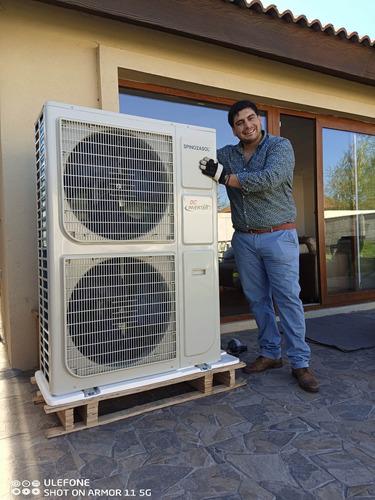 Imagen 1 de 5 de Calefacción Central + Acs Bomba Calor ,sistema + Instalación