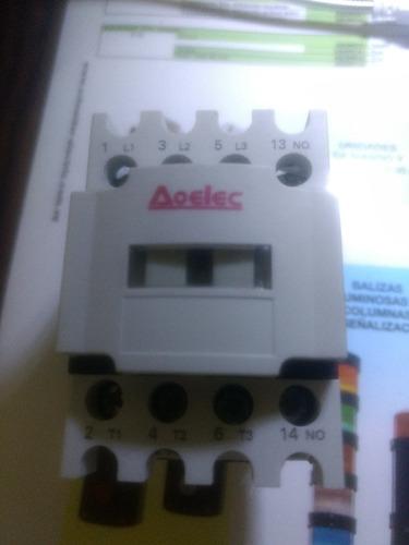 Contactor Aoelec, Modelo Mcp-0910, 9a, 220v, 1na, 60hz
