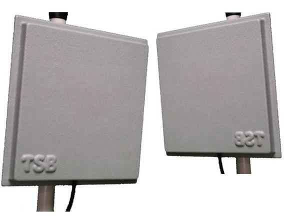 Antena Wireless 14 Dbi X 2 Unid. Kit Enlace Wi-fi Oferta