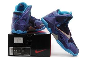 Nike Lebron James Xi Charllote Roxo Original Envio Imediato