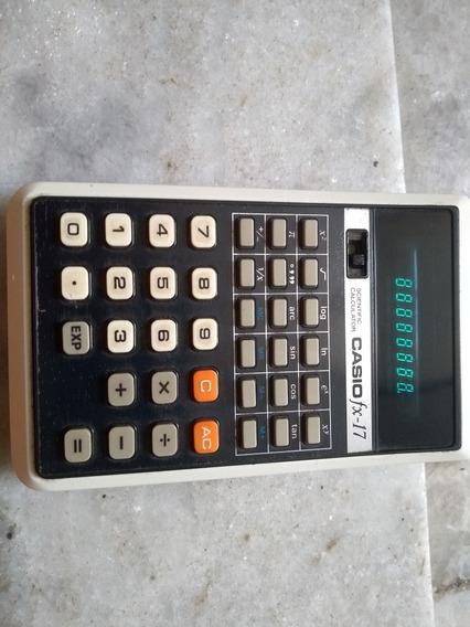 Calculadora Casio Fx-17 Antiga