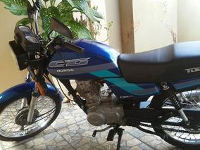 Honda Cg 125 Today -1992 Azul R$ 9.500,00