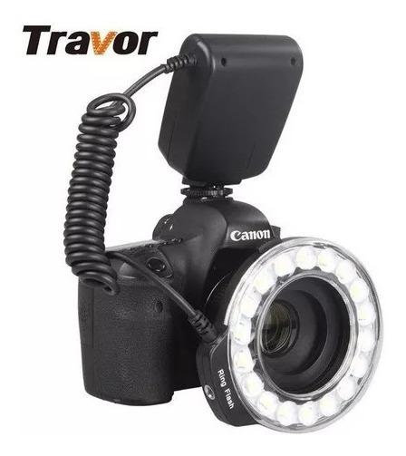Flash Circular Rf-600d Travor 18 Pcs Leds Universal
