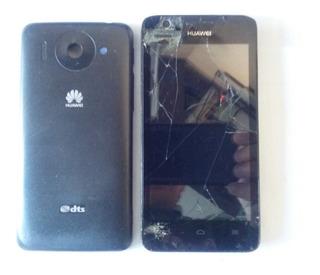 Celular Huawei Ascend G510 4,5 ¨ Com Defeito - 13721