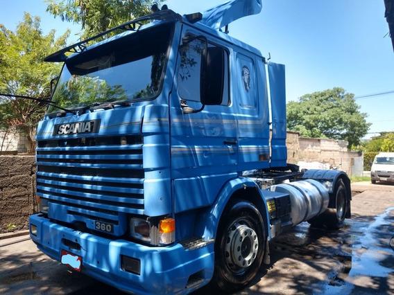 Caminhão Scania 113 1994 E Carreta Gerra 1999 Pneu 295