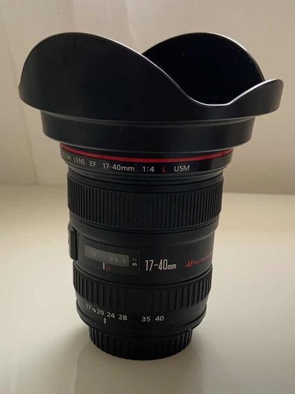 Lente Canon L Ef 17-40mm F/4l Usm