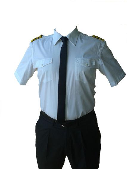 Camisa Airnizer Piloto. Aeronáutica, Aviación, Aviador.