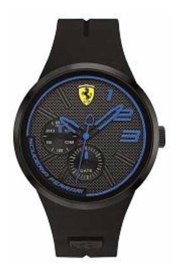 Relógio Scuderia Ferrari Black&blue