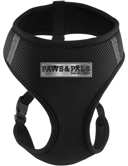 Pwas&pals - Collar, Color Negro, Size Small
