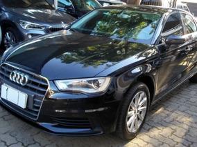 Audi A3 1.4 Tfsi Sedan Attraction 2016 Preta Flex