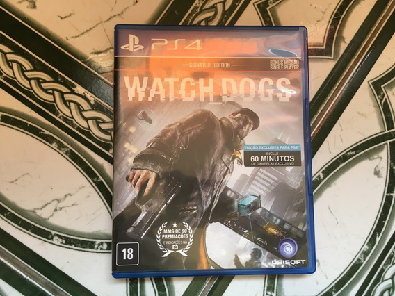 Watch Dogs Ps4 Mídia Física