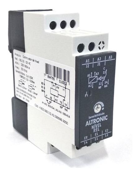 Rele De Nível Inferior/superior 220v-380vca Rel-01-03 Altronic