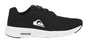 Tênis Quiksilver Voyage Tx Black White