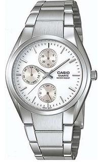 Reloj Casio Mtp-1191a-7a Acero Hombre Wr Agente Oficial