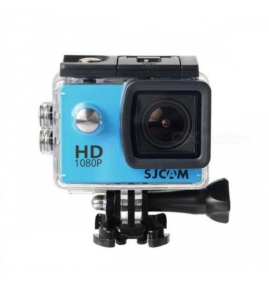 Sj4000 Original + Adaptação P2 + Microfone + Cartão Sd 16gb