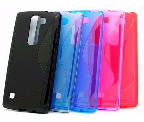 Tpu Protector + Vidrio Templado LG Magna Case Instalado