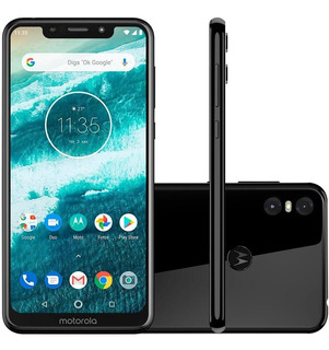 Smartphone Motorola One 64gb 13mp+2mp Android 9.0 Pie
