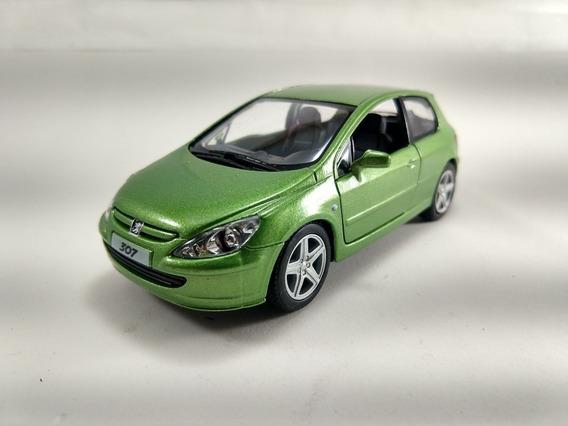 Miniatura ,peugeot 307 Xsi Verde, 2001 , Escala 1/32