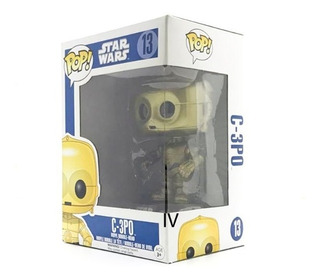 Funko Pop Star Wars C3-po 13 Bobble-head De Vinil