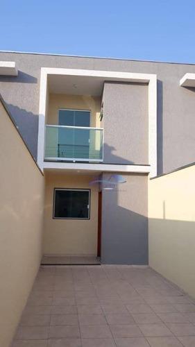 Sobrado Com 2 Dormitórios À Venda, 100 M² Por R$ 450.000,00 - Cidade Centenário - São Paulo/sp - So0134
