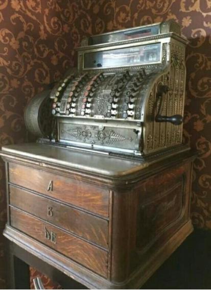 Caja Registradora National Más De 100 Años