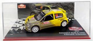 Rally Renault Clio S1600- N.bernardi 2004 1/43 Ixo Altaya