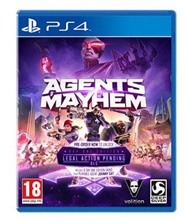 Ps4 Agents Of Mayhem: Day One Edition
