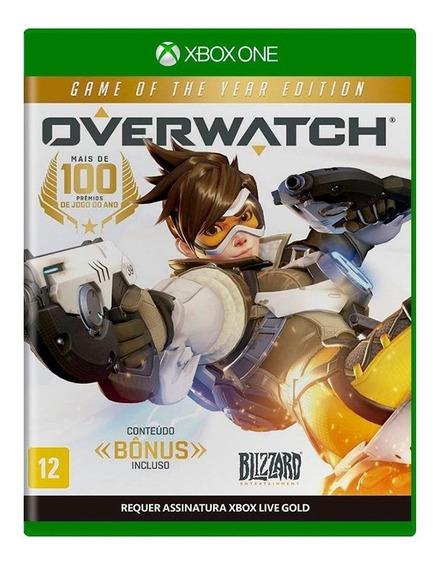 Overwatch Goty Xbox One Mídia Física Novo Lacrado