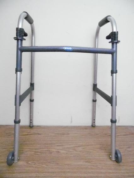 Andadera Caminadora Plegable Metalica Hasta 125 Kilos K508
