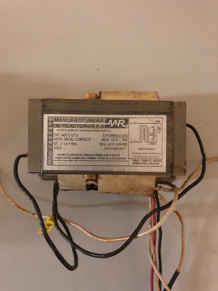 Balastro Am Compacto Mr 400w 127vca