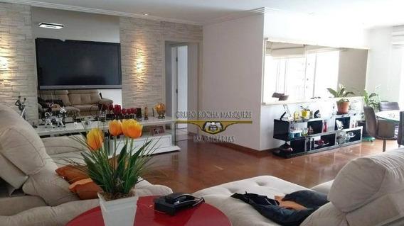 Apartamento Com 4 Dormitórios À Venda, 168 M² Por R$ 830.000,00 - Belém - São Paulo/sp - Ap1868